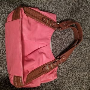 Pink and Brown Purse! Make me an offer!!
